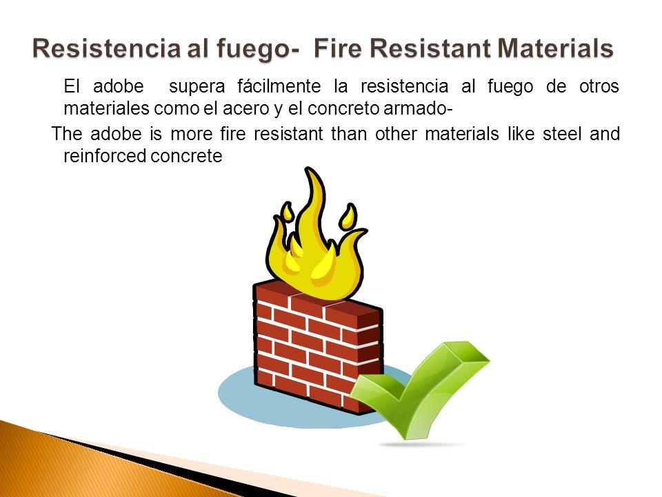 Resistencia al fuego- Fire Resistant Materials