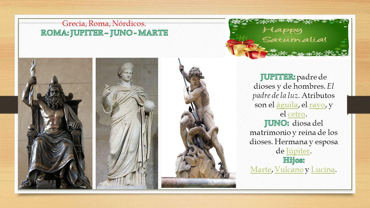 ROMA: JUPITER – JUNO - MARTE