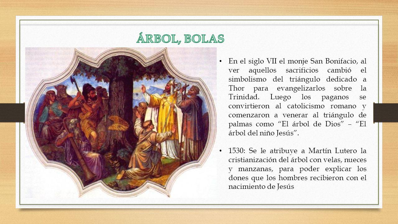 ÁRBOL, BOLAS