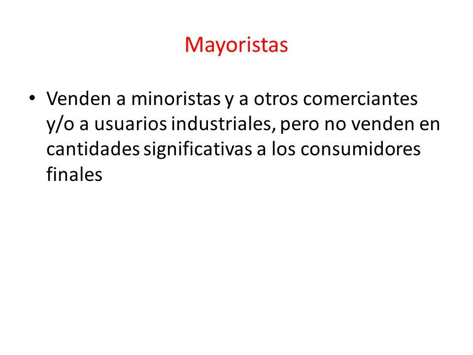 Mayoristas