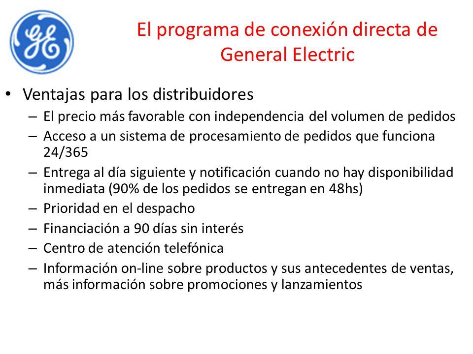 El programa de conexión directa de General Electric