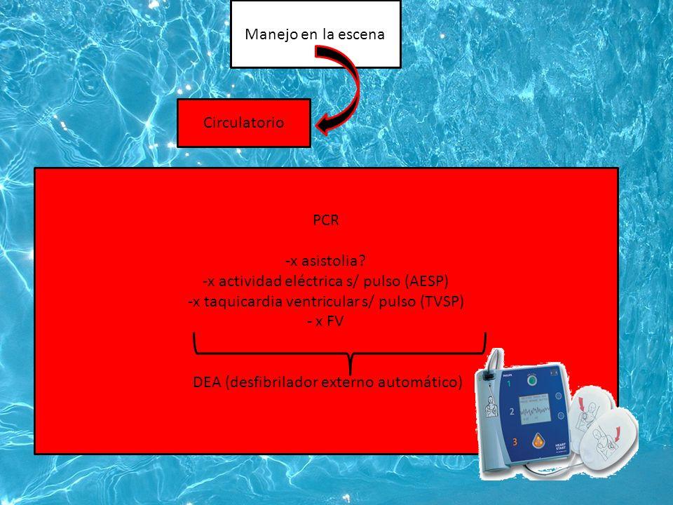 x actividad eléctrica s/ pulso (AESP)