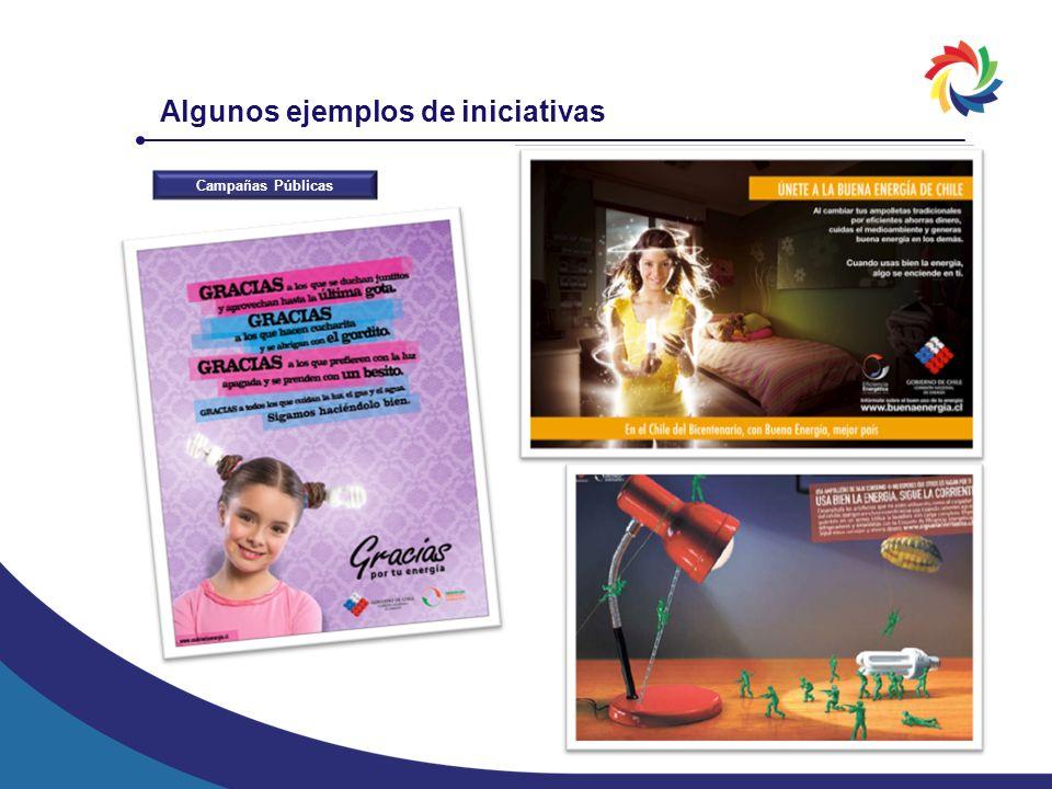 Algunos ejemplos de iniciativas