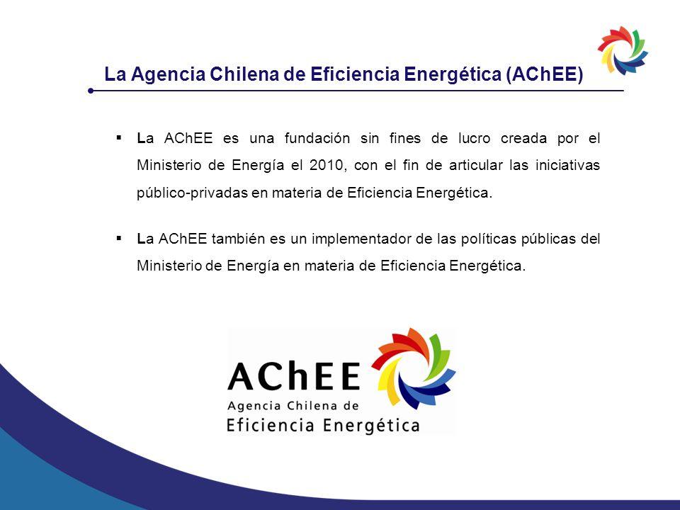 La Agencia Chilena de Eficiencia Energética (AChEE)