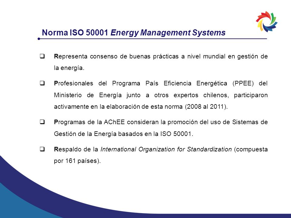 Norma ISO 50001 Energy Management Systems