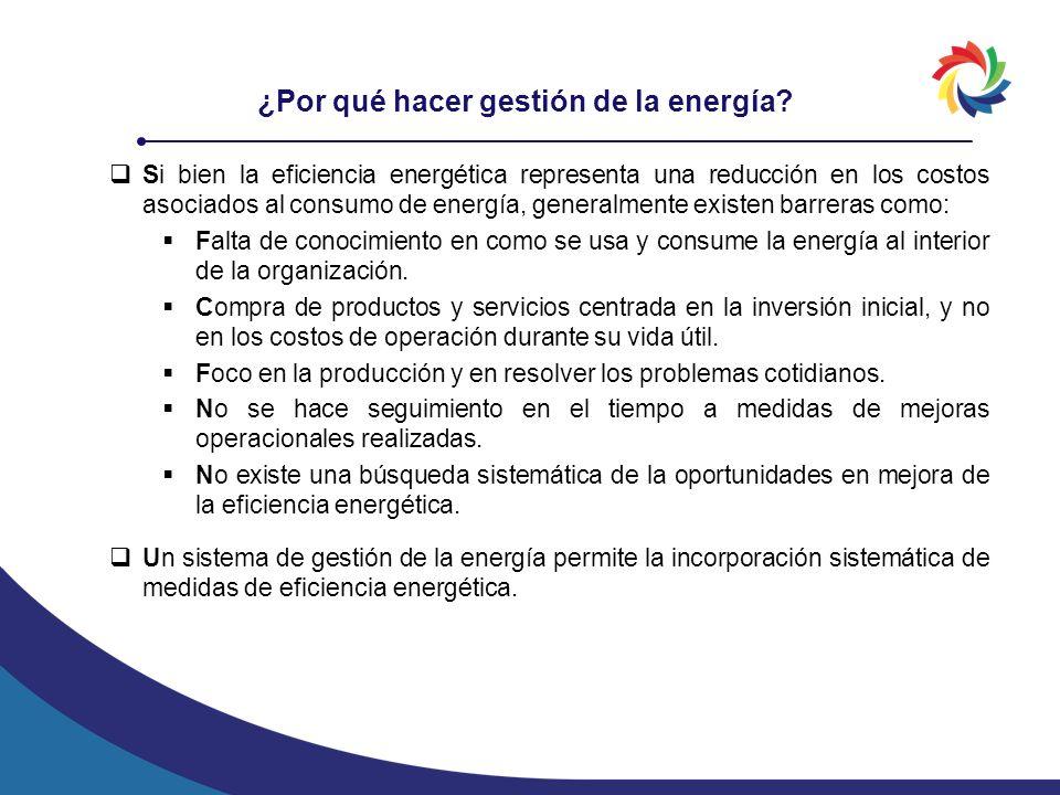 ¿Por qué hacer gestión de la energía