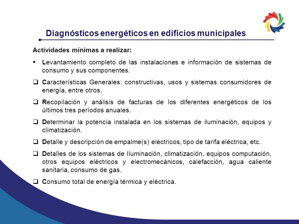 Diagnósticos energéticos en edificios municipales