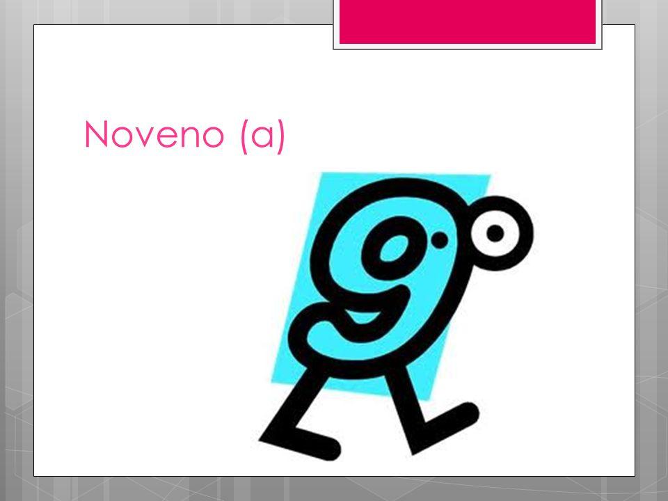 Noveno (a)