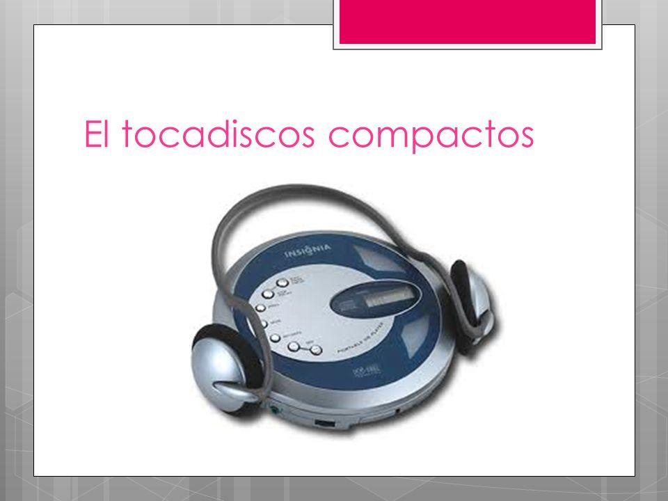El tocadiscos compactos
