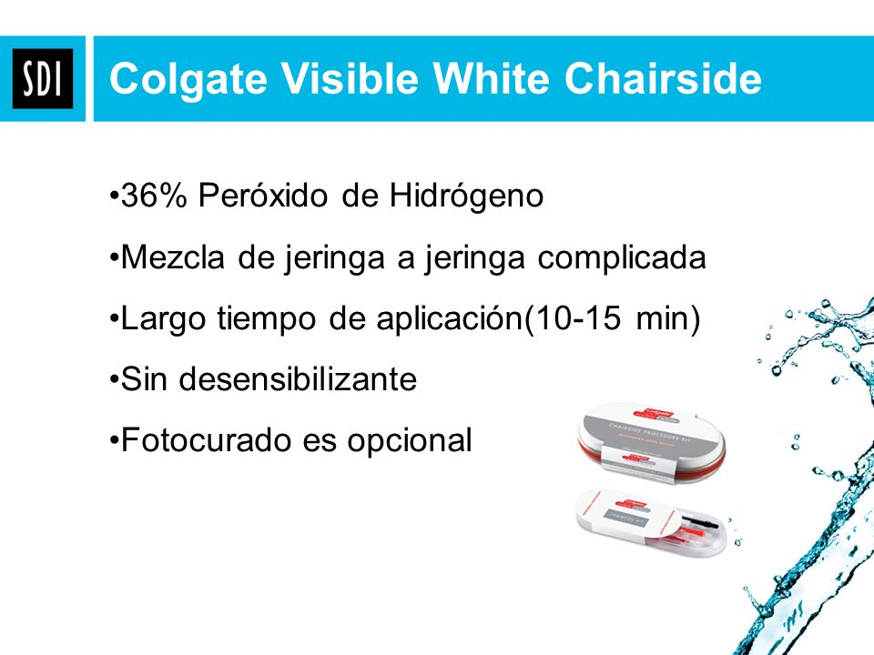 Colgate Visible White Chairside