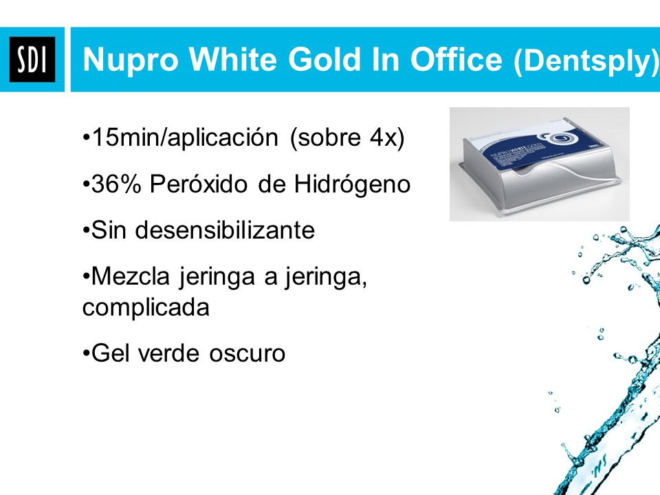 Nupro White Gold In Office (Dentsply)