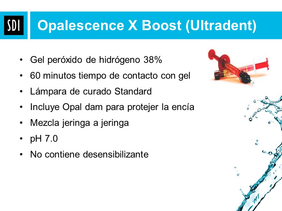 Opalescence X Boost (Ultradent)