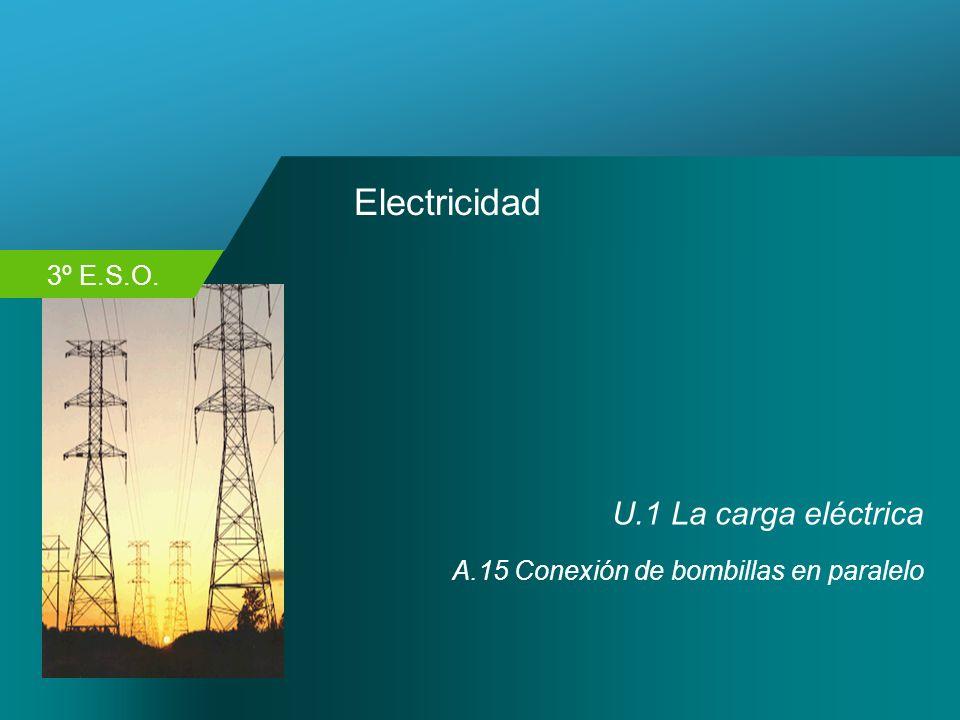 Electricidad U.1 La carga eléctrica