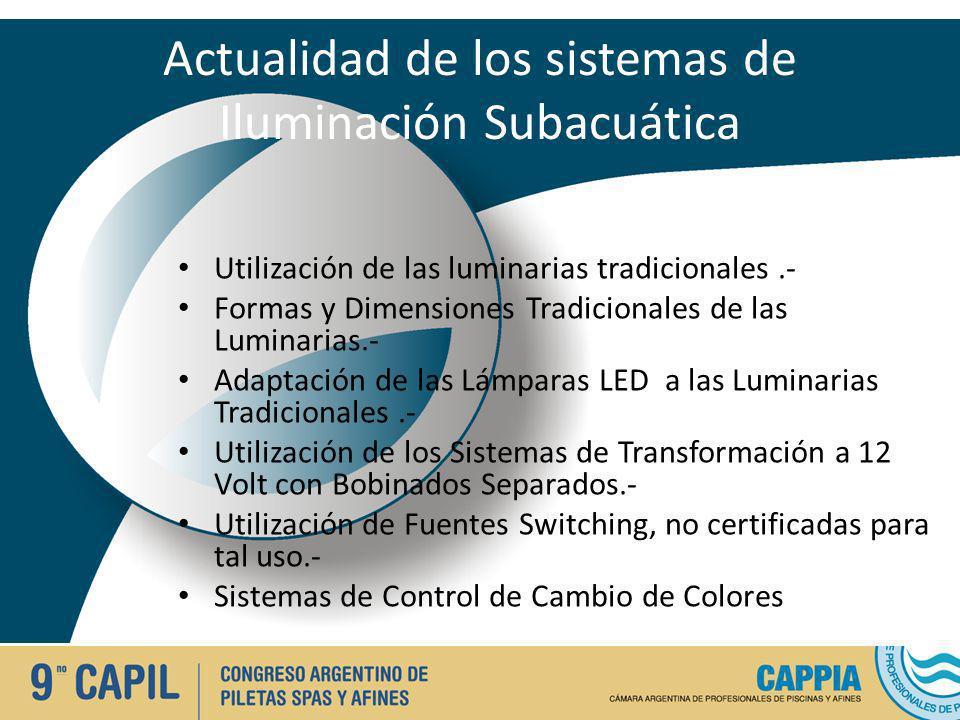 Actualidad de los sistemas de Iluminación Subacuática