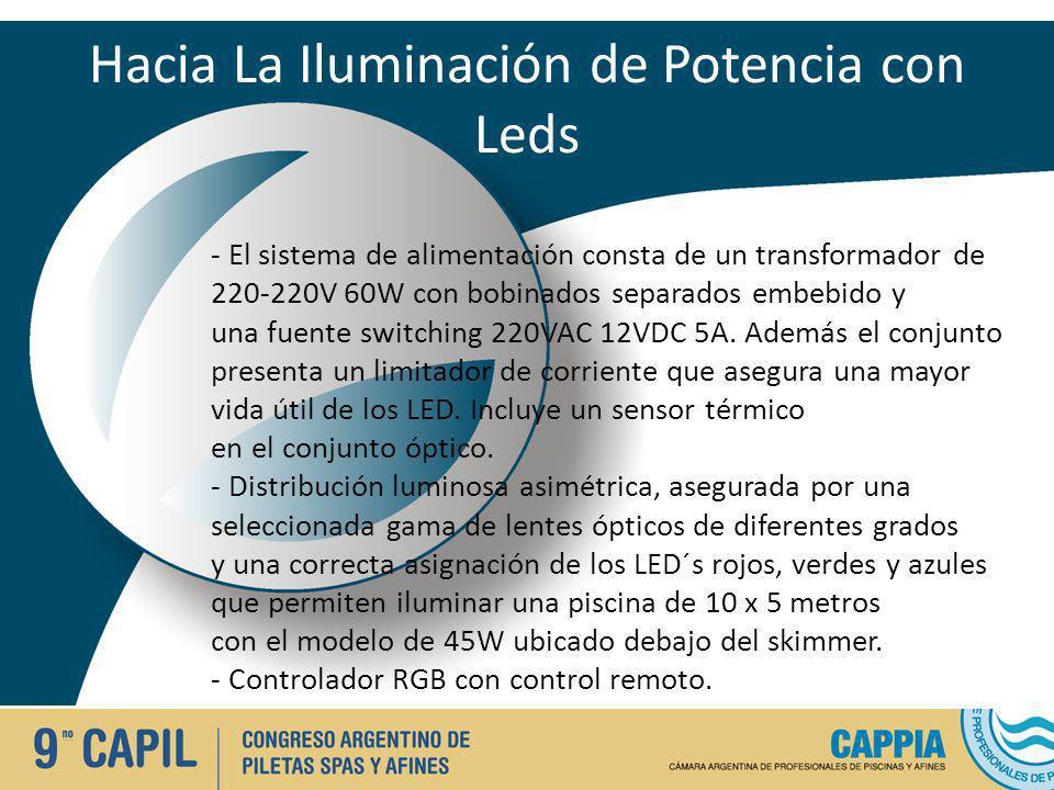 Hacia La Iluminación de Potencia con Leds