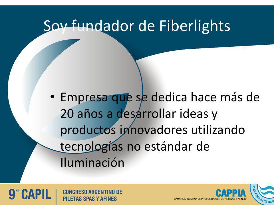 Soy fundador de Fiberlights