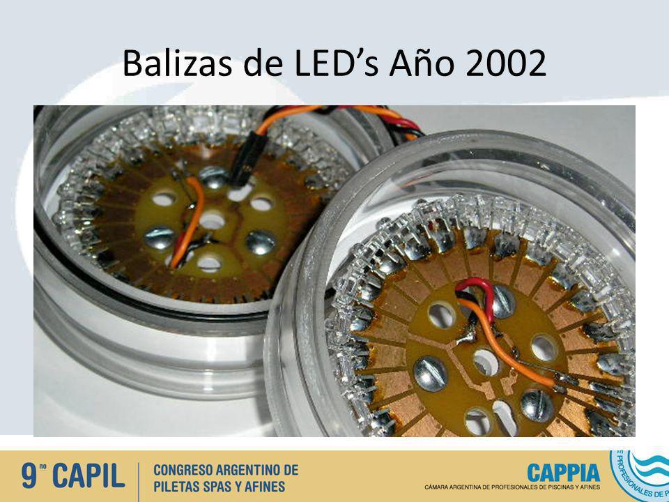 Balizas de LED's Año 2002