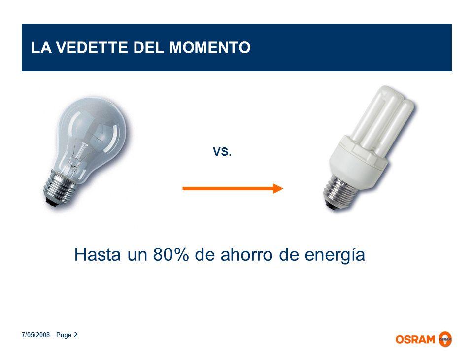 Hasta un 80% de ahorro de energía