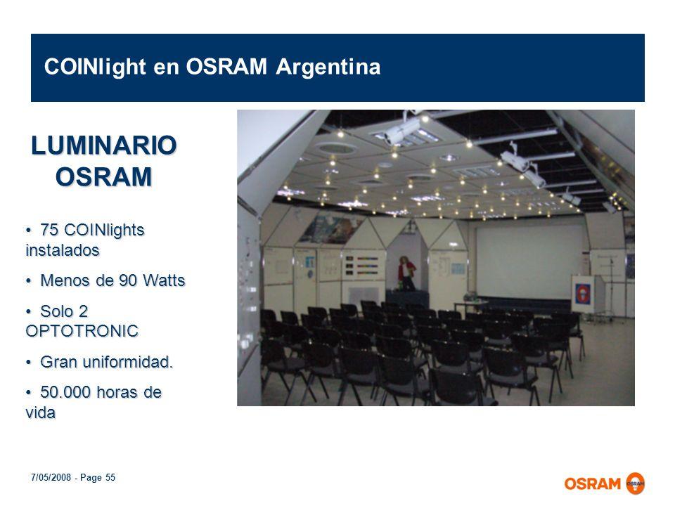 COINlight en OSRAM Argentina