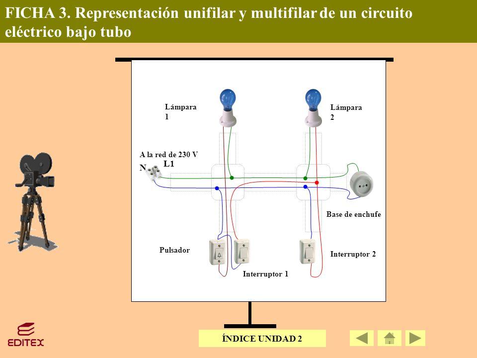 Circuito Unifilar : Circuito unifilar y multifilar