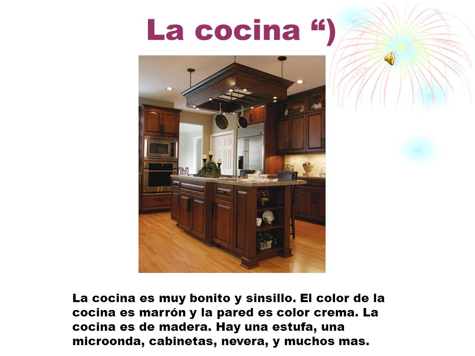 La cocina )
