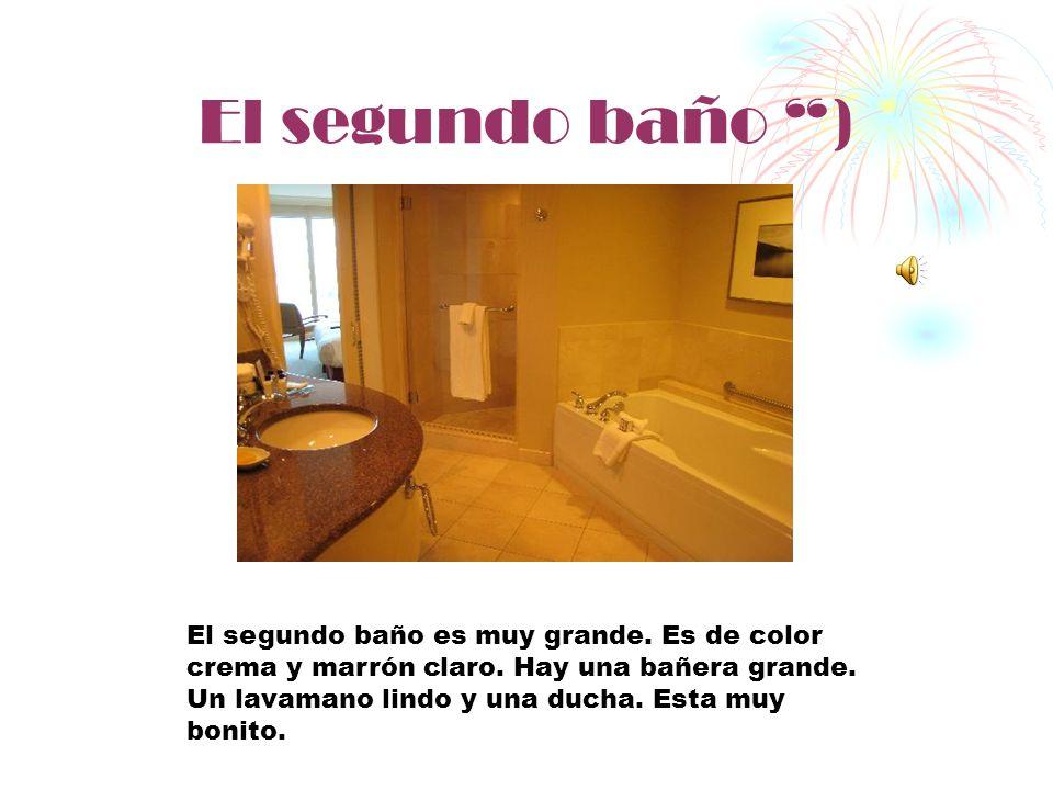 El segundo baño )