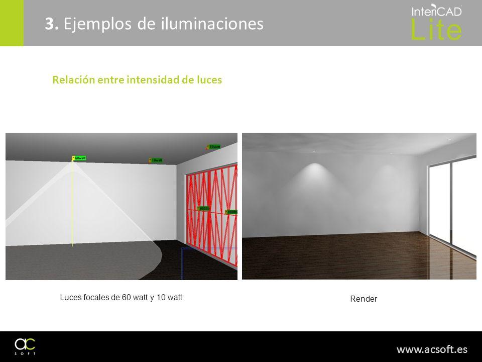 3. Ejemplos de iluminaciones