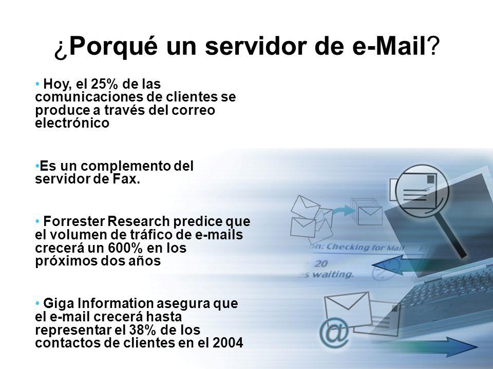 ¿Porqué un servidor de e-Mail