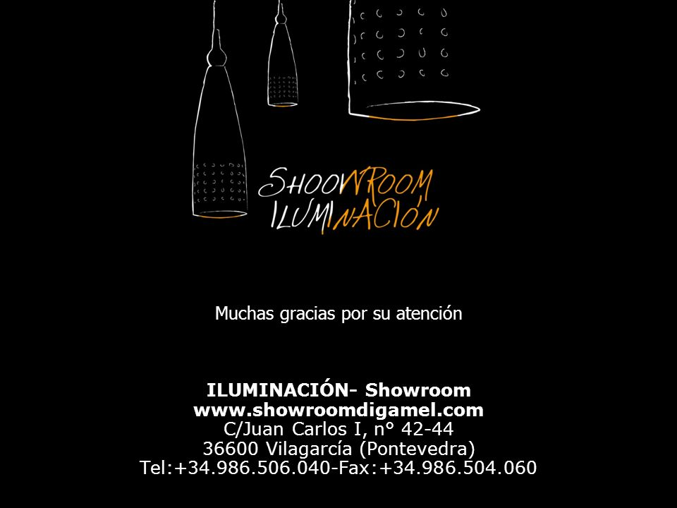 ILUMINACIÓN- Showroom