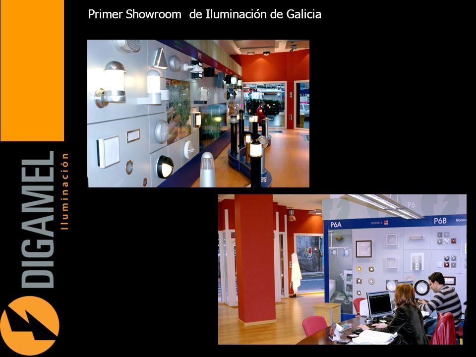 Primer Showroom de Iluminación de Galicia