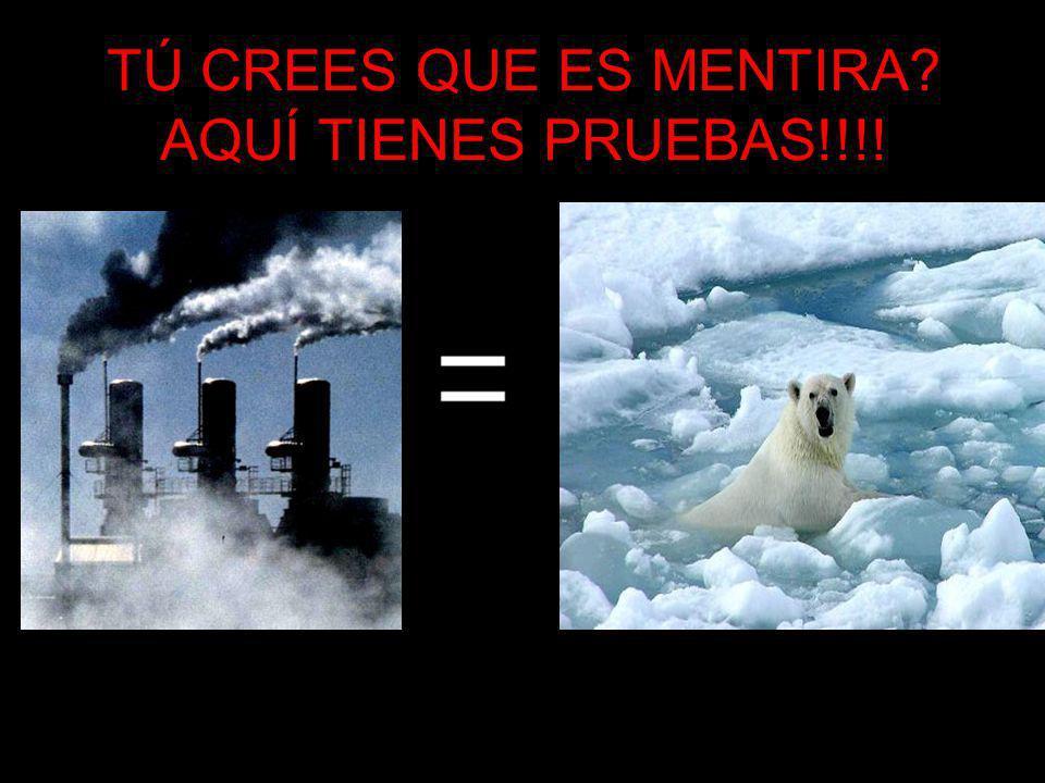 TÚ CREES QUE ES MENTIRA AQUÍ TIENES PRUEBAS!!!!