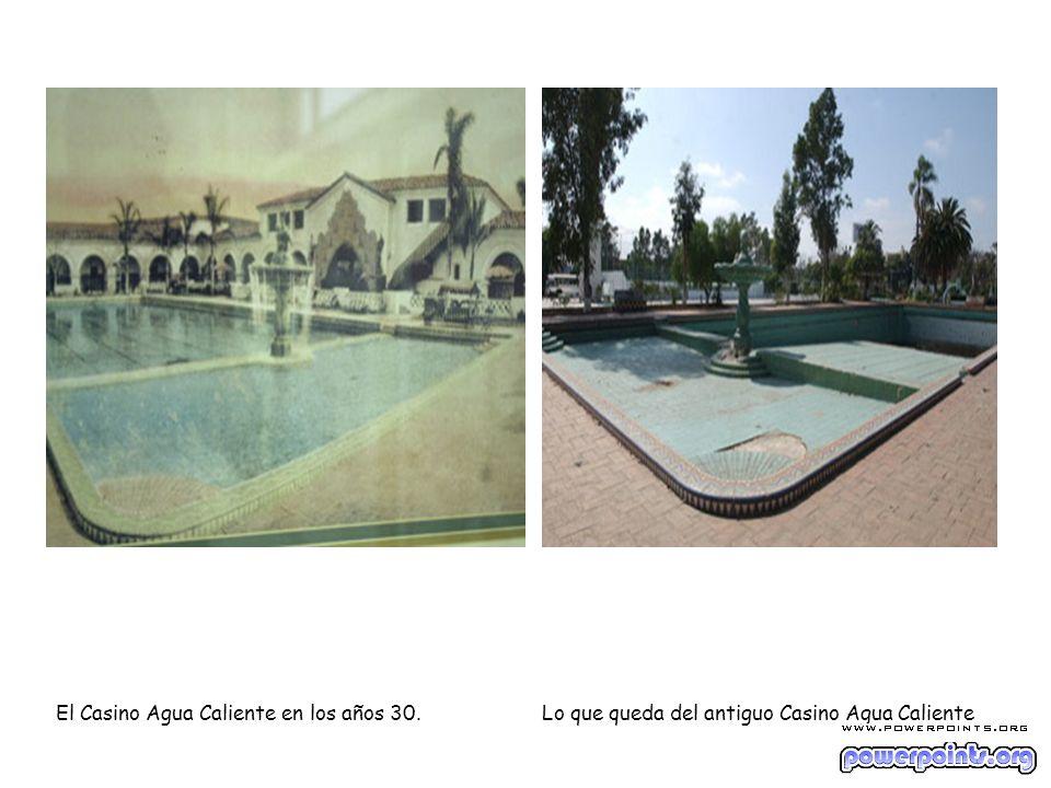 El Casino Agua Caliente en los años 30