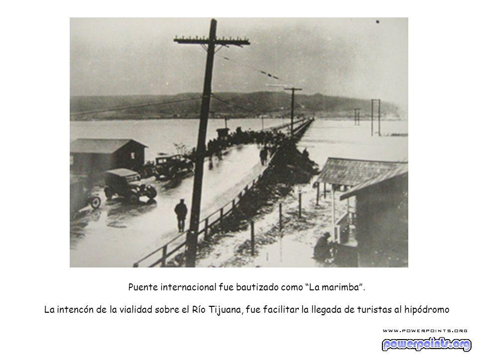 Puente internacional fue bautizado como La marimba
