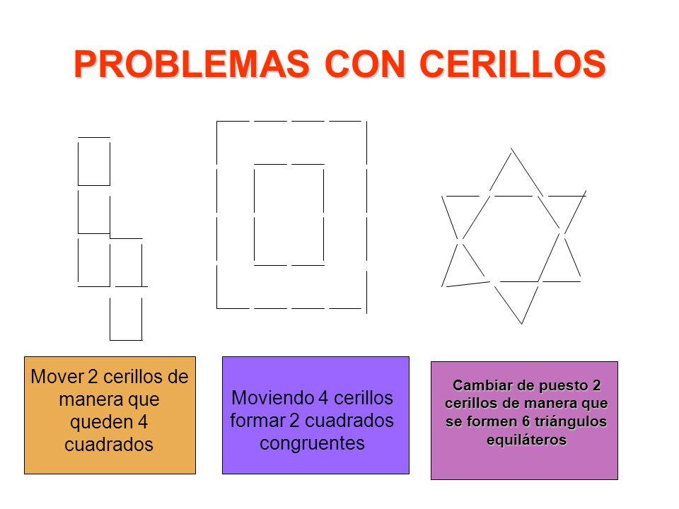 PROBLEMAS CON CERILLOS
