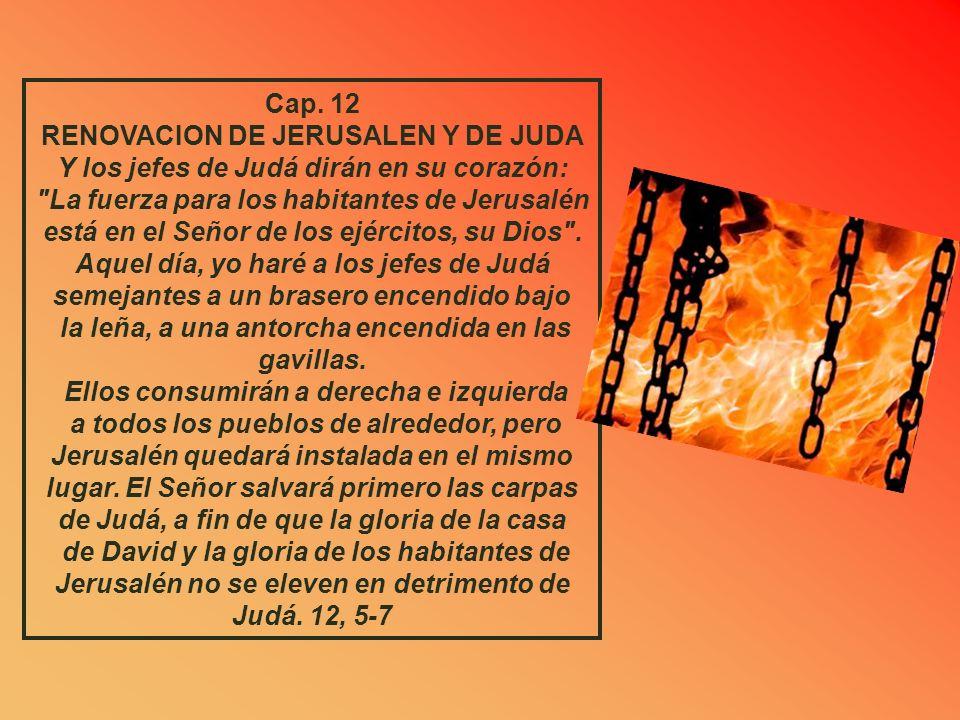 RENOVACION DE JERUSALEN Y DE JUDA