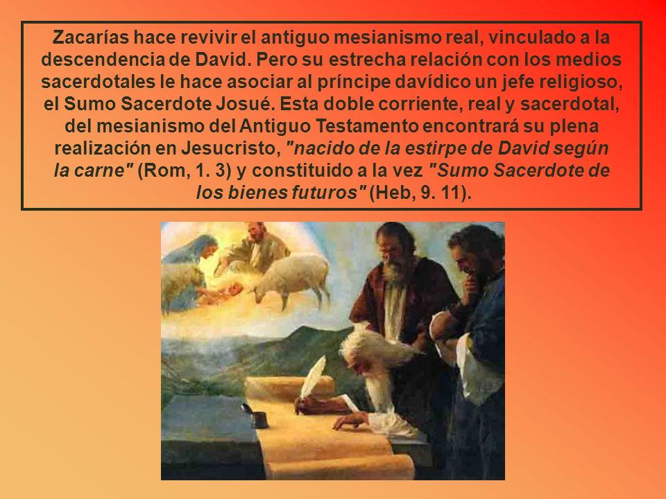 la carne (Rom, 1. 3) y constituido a la vez Sumo Sacerdote de