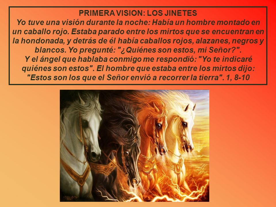 PRIMERA VISION: LOS JINETES