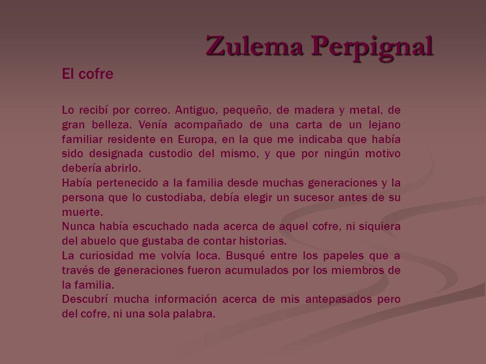 Zulema Perpignal El cofre