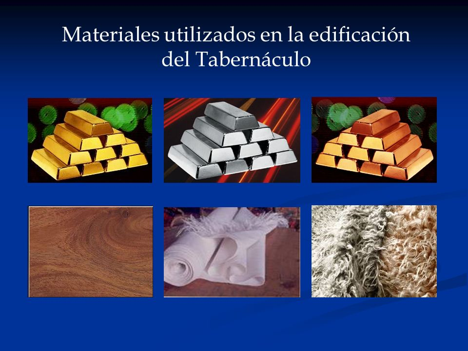 Materiales utilizados en la edificación