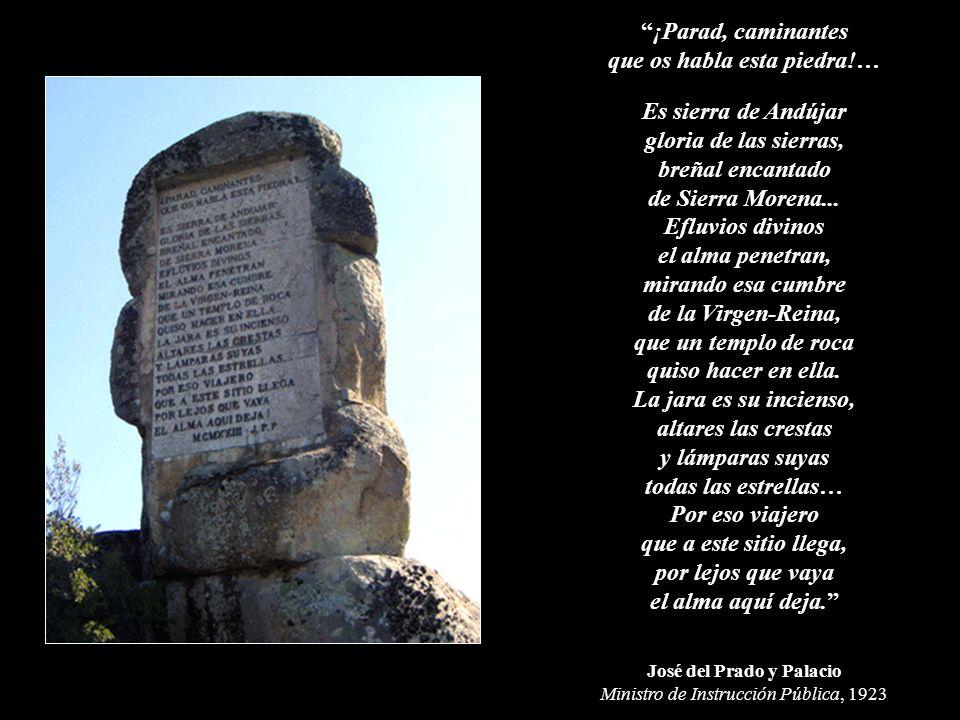 que os habla esta piedra!… José del Prado y Palacio