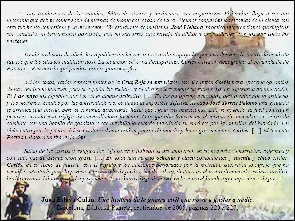 Barcelona, Editorial Planeta, septiembre de 2005, páginas 223 a 227.