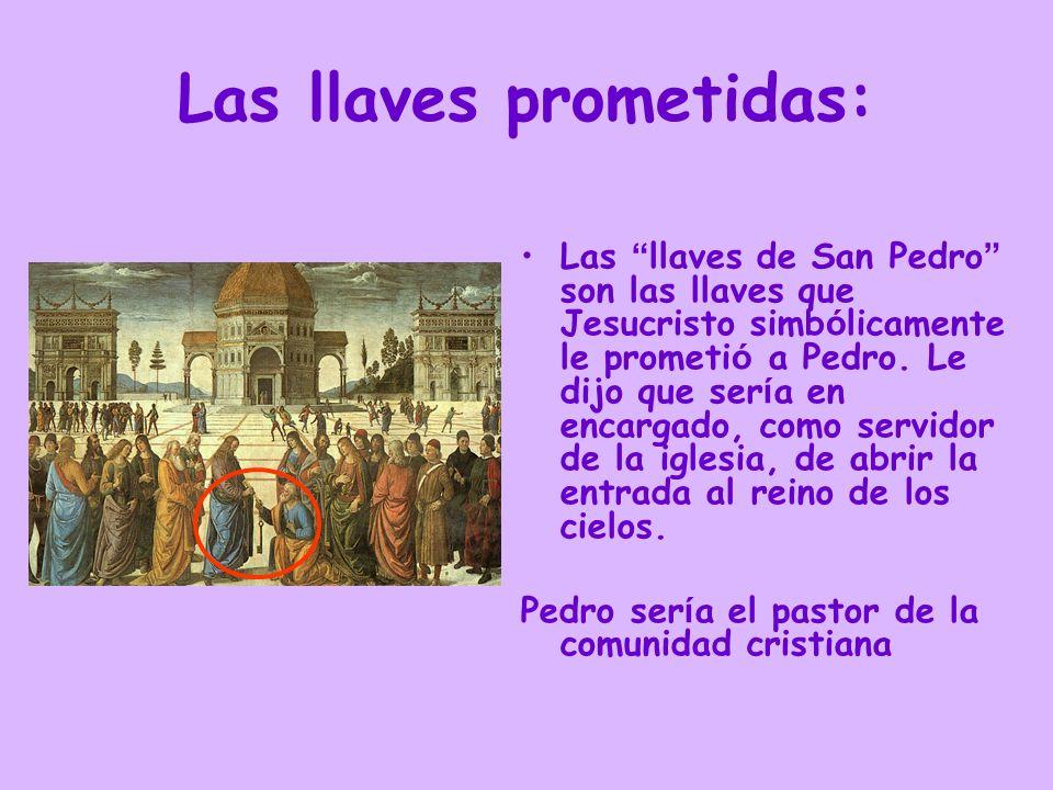 Las llaves prometidas: