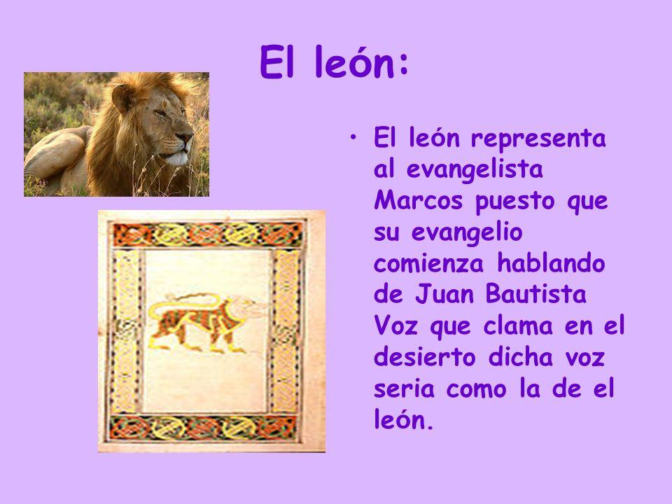 El león: