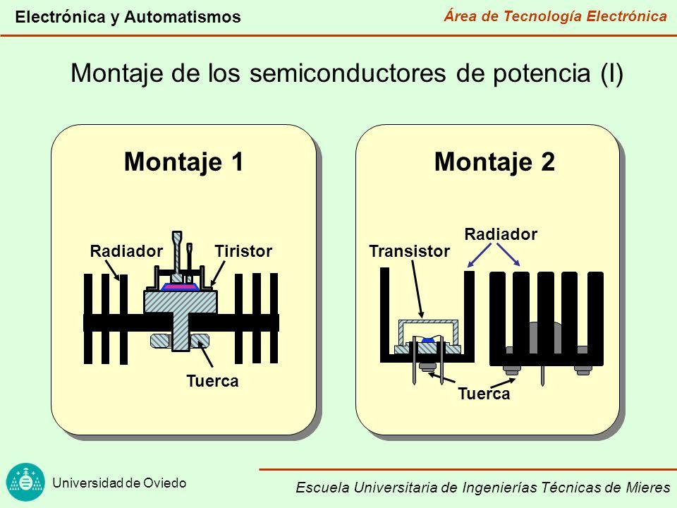 Montaje de los semiconductores de potencia (I)