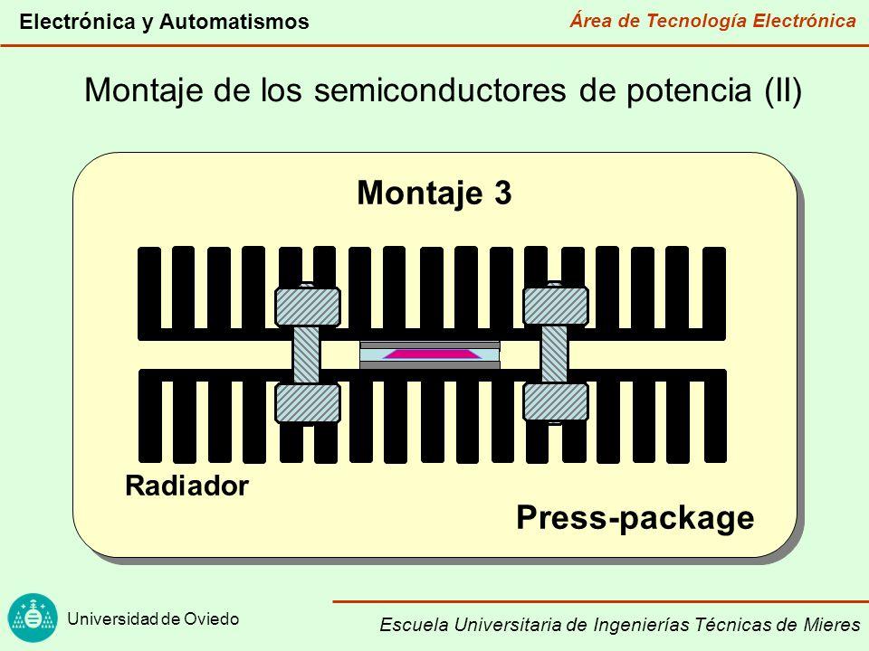 Montaje de los semiconductores de potencia (II)