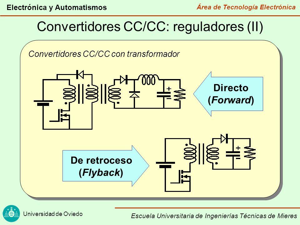 Convertidores CC/CC: reguladores (II)