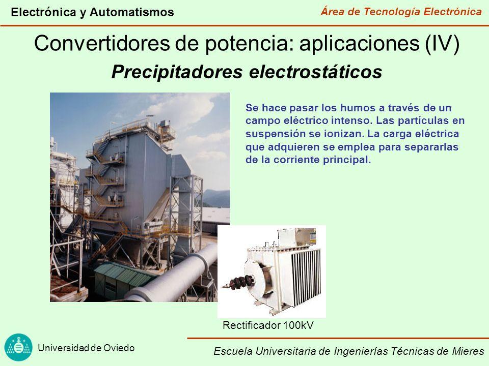 Precipitadores electrostáticos
