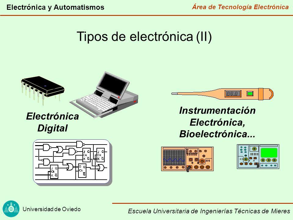 Instrumentación Electrónica, Bioelectrónica...