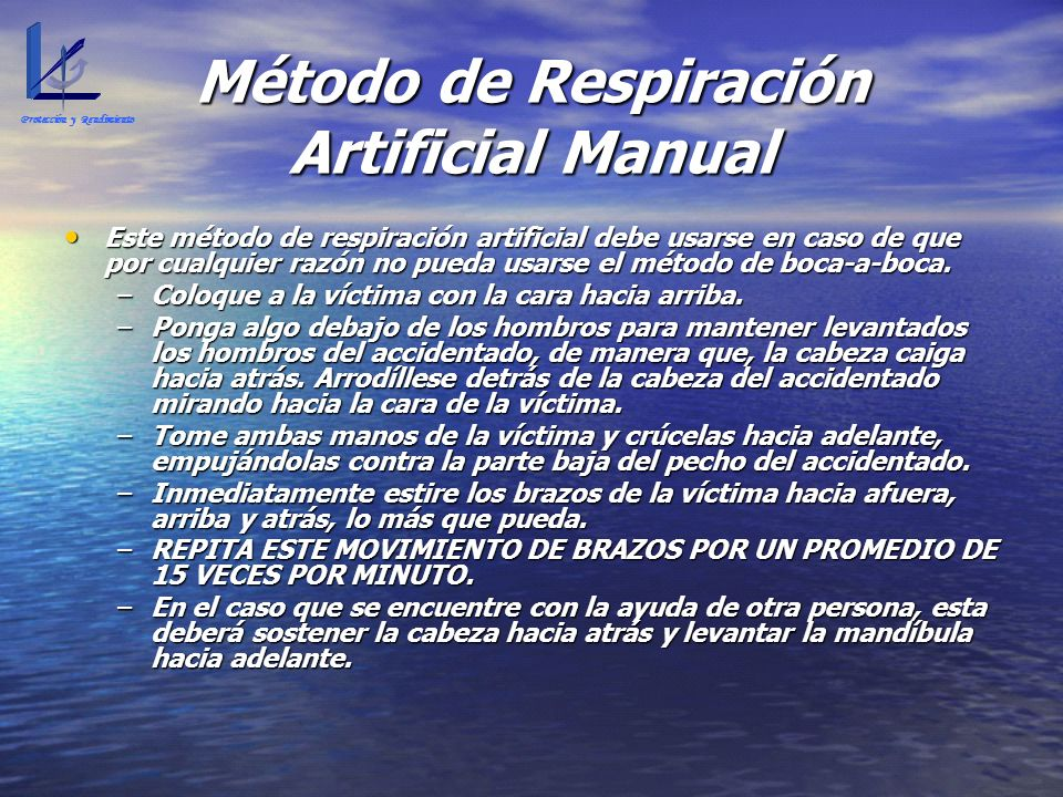 Método de Respiración Artificial Manual
