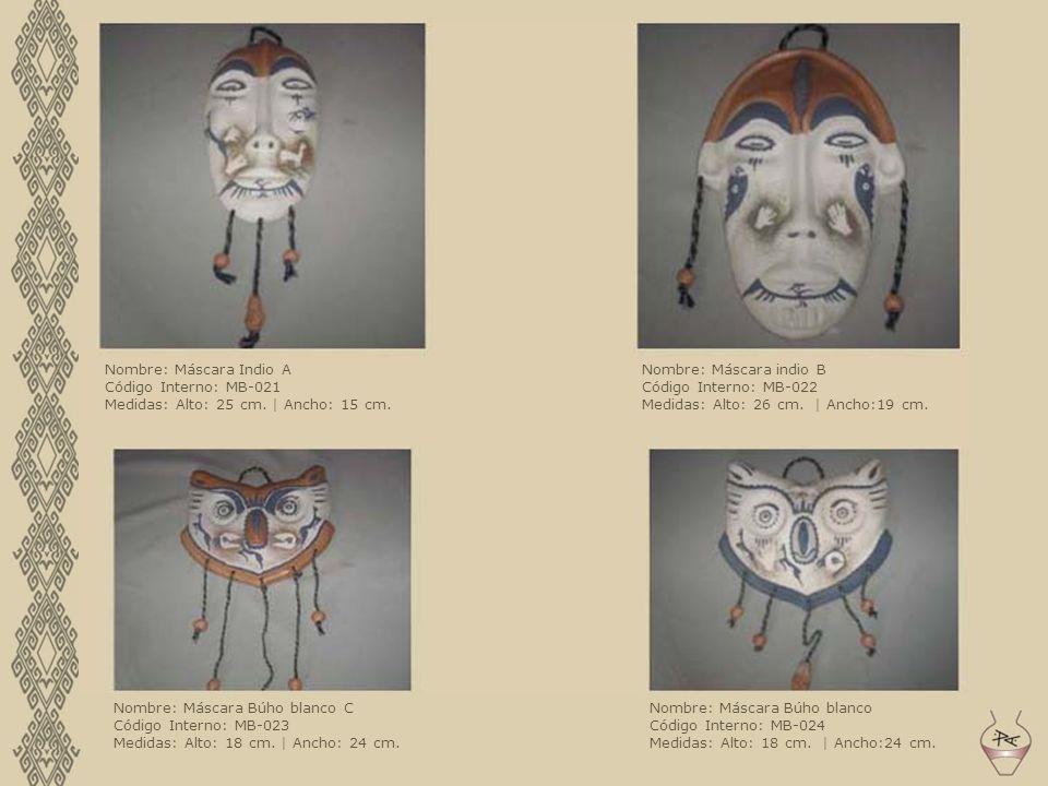 Nombre: Máscara Indio A